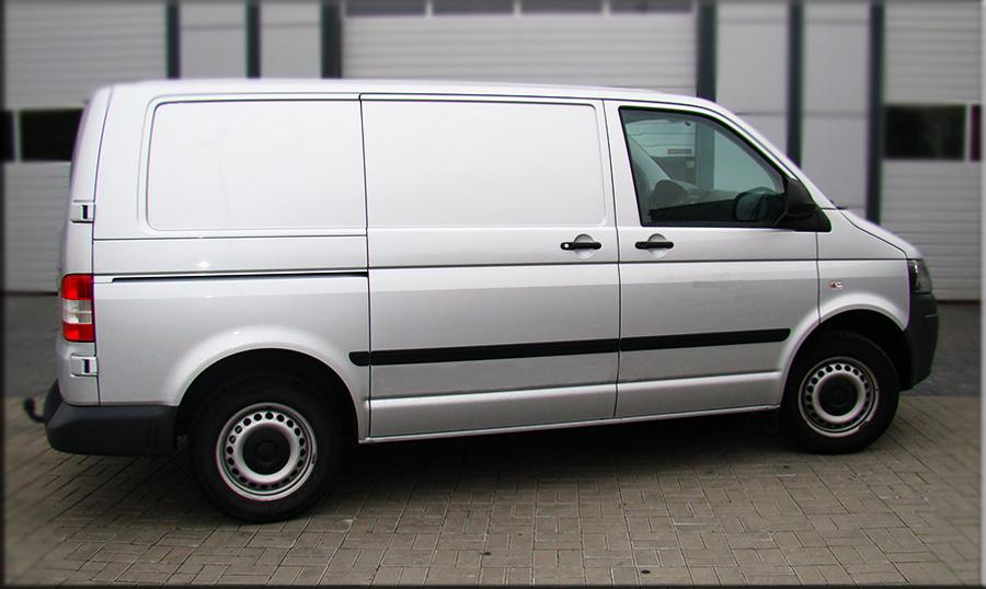 Für VW T6 Transporter ab 2015 Lang Radstand Chrom Türleisten Blenden Edelstahl